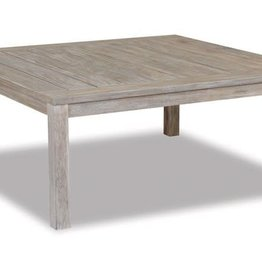 Sunset West USA DRIFTWOOD TEAK SQUARE COFFEE TABLE