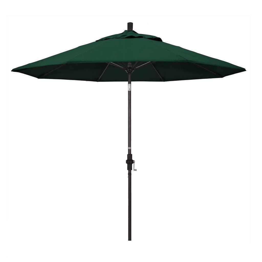 California Umbrella Pacifica Fabric - Forest Green Umbrella Canopy