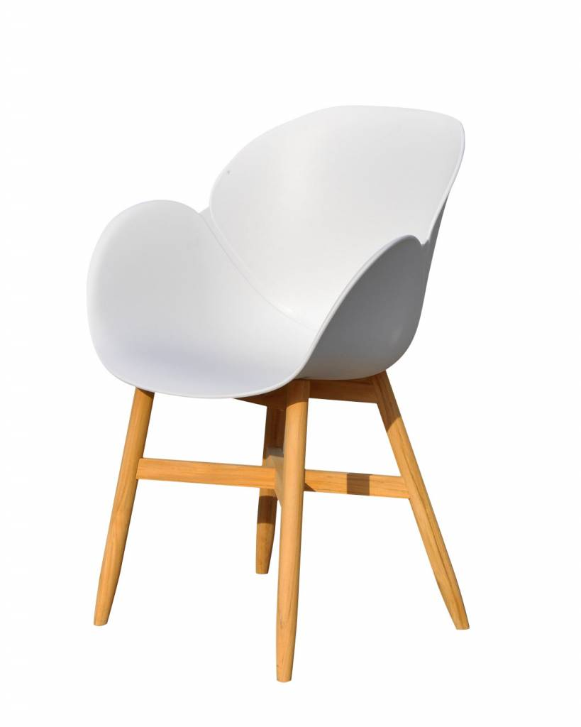 Lounge Factory MONROE WHITE CHAIR