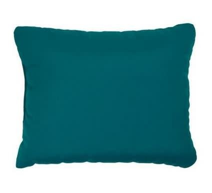 "American Mills Canvas Teal 18""x12"" Pillow"