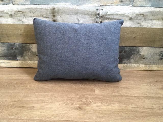 "Lava Pillows Heritage Denim 18""x12"" Pillow"