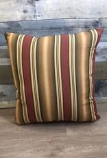 "Lava Pillows Multi Stripe 18"" Pillow"