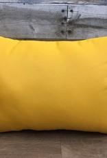 """American Mills Canvas Sunflower 18""""x12"""" Pillow"""
