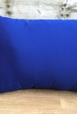 "Lava Pillows Canvas True Blue 18""x12"" Pillow"