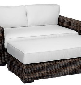 Sunset West USA MONTECITO DOUBLE CHAISE 2PC (GRADE A FABRIC)