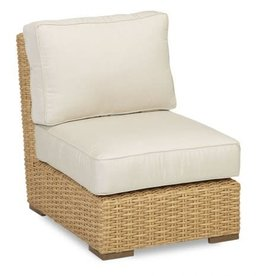 Sunset West USA LEUCADIA ARMLESS CLUB CHAIR (GRADE A FABRIC)