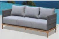 "Lounge Factory DOMINO 3 SEATER SOFA 80x35x27"""