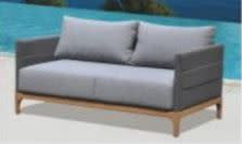 Lounge Factory DOMINO 2 SEATER LOVESEAT 55x35x27""