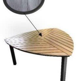 "Lounge Factory SKY POLYTEAK DIAMOND DINING TABLE 67""x67""x30"""