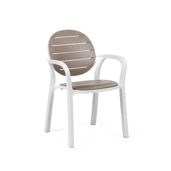 Nardi Palma Chair - Bianco/Tortora
