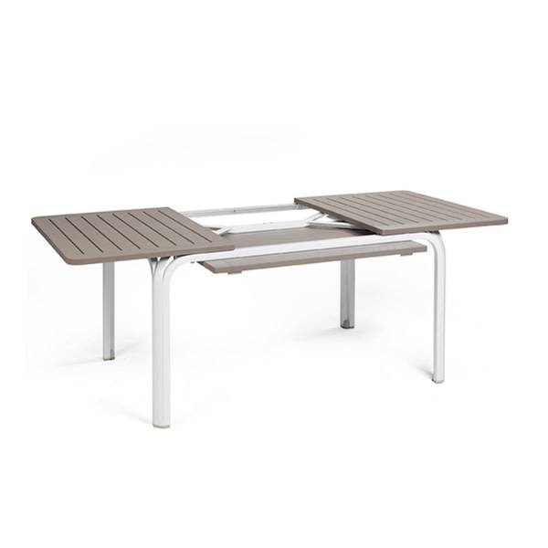 Nardi Alloro 140 Extension Table - Tortora/Bianco