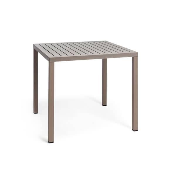 Nardi Cube 80 Table - Tortora