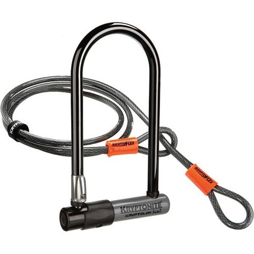 KRYPTONITE SERIES 2 U-LOCK WITH 4FT CABLE