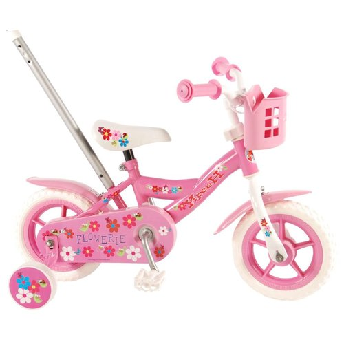 VOLARE YIPEEH FLOWERIE BIKE (PINK) 10''