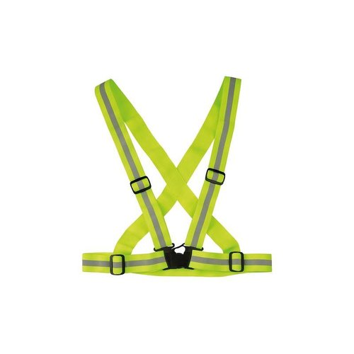 CUBE RFR REFLECTOR VEST NEON (YELLOW SILVER)