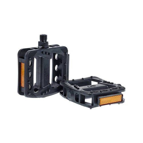 CUBE RFR PEDALS FLAT HQP SMPT (BLACK)