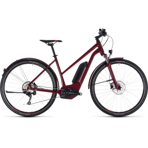 CROSS HYBRID PRO ALLROAD 400 2018 (DARKRED) TRAPEZE
