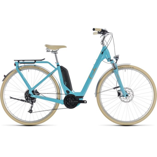 ELLY RIDE HYBRID 500 2018 (AQUA & ORANGE) EE