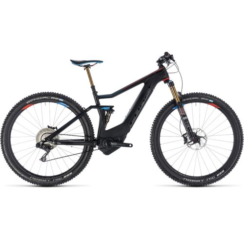 CUBE STEREO HYBRID 120 HPC SLT 500 2018 (ZERO BLACK)