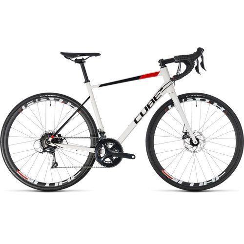 CUBE ATTAIN PRO DISC 2018 (WHITE & RED)