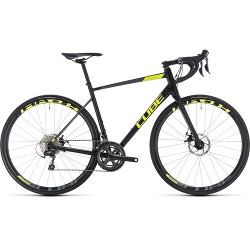 CUBE ATTAIN RACE DISC 2018 (BLACK & FLASHYELLOW)