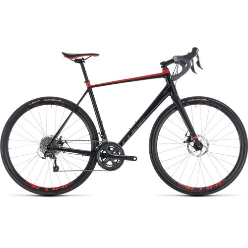 CUBE NUROAD 2018 (BLACK & RED)