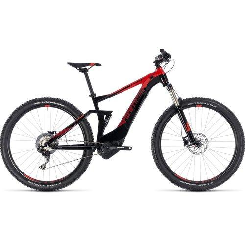 CUBE STEREO HYBRID 120 PRO 500 2018 (BLACK & RED)