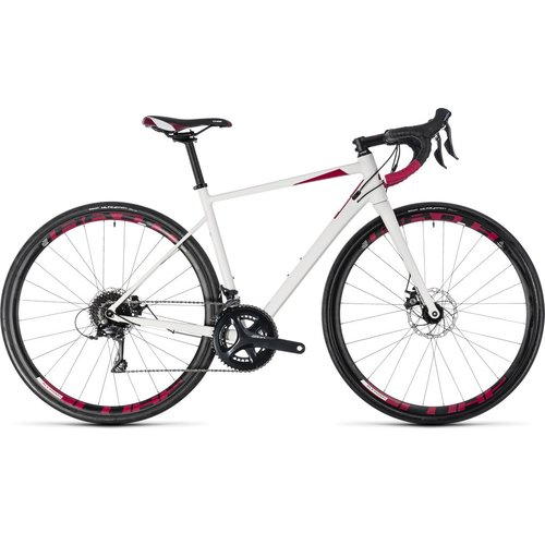 CUBE AXIAL WS PRO 2018 (WHITE & BERRY)