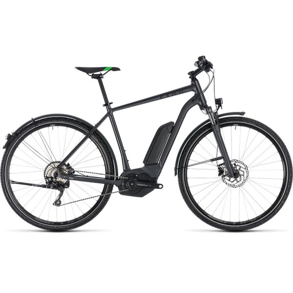CROSS HYBRID PRO ALLROAD 500 2018 (GREY & GREEN)