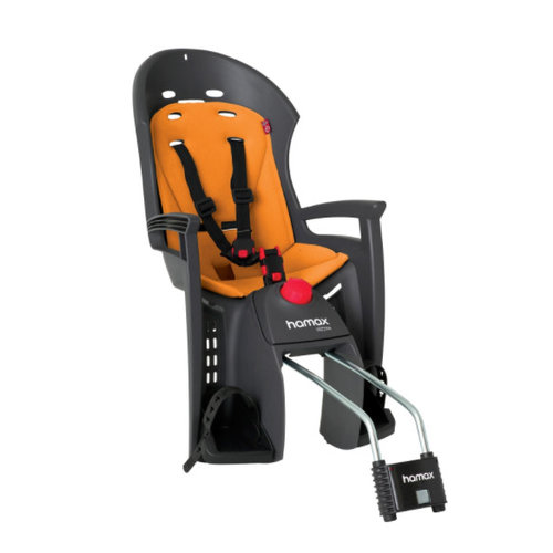 HAMAX HAMAX SIESTA RECLINING REAR CHILD SEAT (GREY&ORANGE)