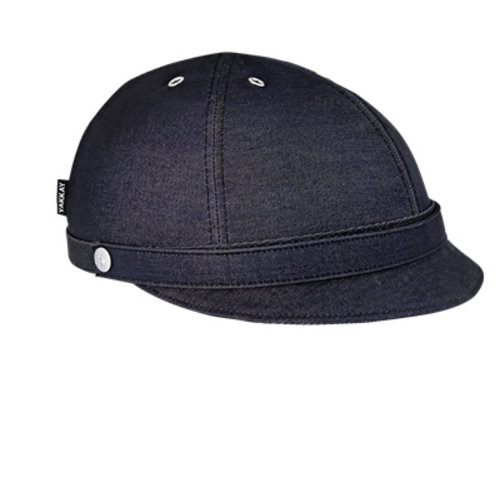 YAKKAY MILANO DARK BLUE DENIM HELMET COVER