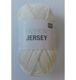 Rico Design Fashion Jersey, White