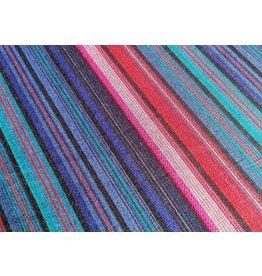 Tissu de Marie, paars-blauw streep