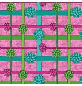 Benartex 3027M-02 Gift Bow Pink