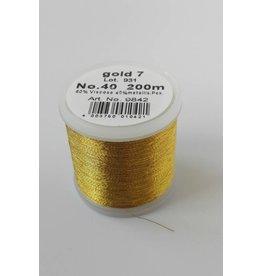 Madeira No.40 - Goud garen - Gold 7 - 200 mtr
