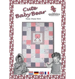 QuiltBites Cute  Baby Bear, Quiltpakket
