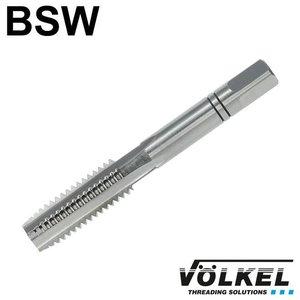 Völkel Handtap middensnijder, ≈ DIN 352, HSS-G, linkse draad BSW 1'' x 8