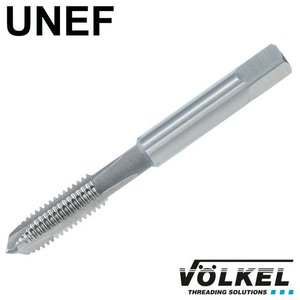 Völkel Machinetap, ISO 529, HSS-E, vorm B met schilaansnijding, UNEF 3/8 x 32