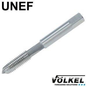 Völkel Machinetap, ISO 529, HSS-E, vorm B met schilaansnijding, UNEF 1.3/8 x 18