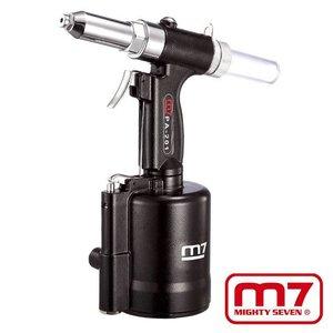 Mighy-Seven Pneumatische blindklinktang 2.4, 3.2, 4.0, 4.8, 6.4mm
