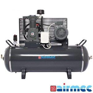 Airmec Zuigercompressor 15 BAR, 900L/min, 300L tank, 400V