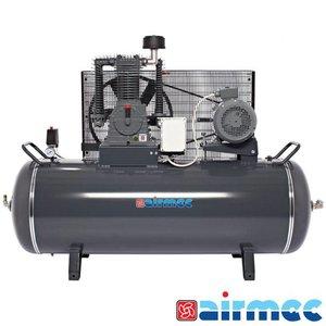 Airmec Zuigercompressor 15 BAR, 1300L/min, 500L tank, 400V