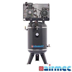 Airmec Zuigercompressor, 375L/min, 100L tank, 230V
