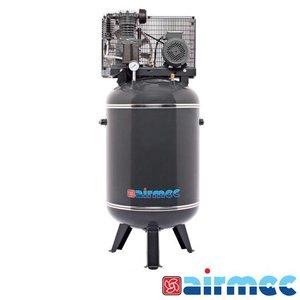 Airmec Zuigercompressor, 500L/min, 200L tank, 400V