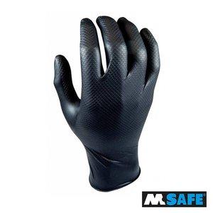 M-Safe Nitril Grippaz handschoen 25paar, XL