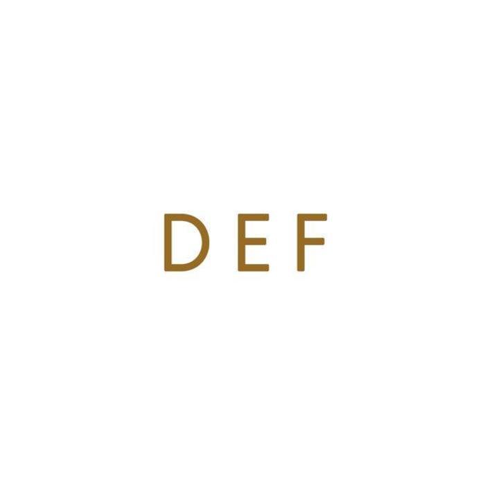 D-E-F