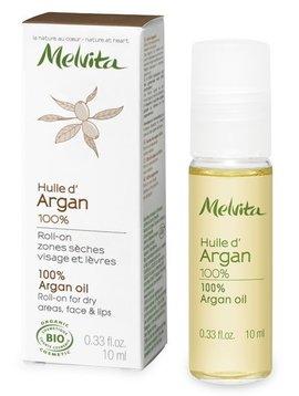 Melvita Roll-on Arganöl - für Gesicht und Lippen - trockene Haut