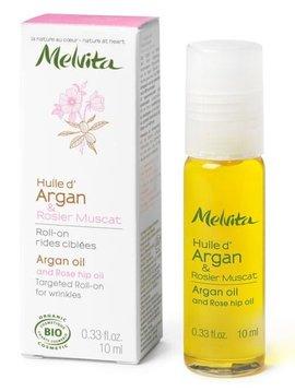 Melvita Roll-on Arganöl und Muskatrosenöl - für Gesicht - gegen Fältchen