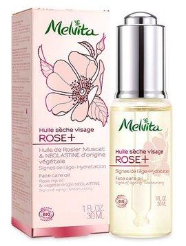 Melvita Rose+ - Gesichtspflegeöl mit Neoplastine