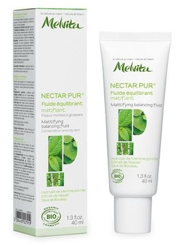 Melvita Nectar Pure - Gesichtsfluid - für Tag und Nacht - mattierend